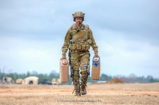 Egzoszkielet PROWLER. Fot. Revision Military Inc. /materiały prasowe
