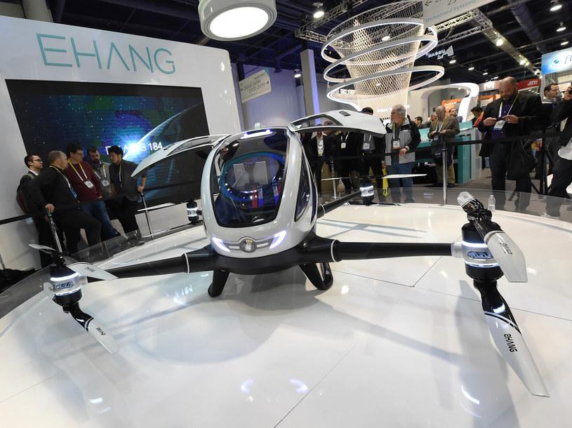Ehang 184 - pierwszy pasażerski dron na świecie /AFP