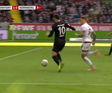 Eintracht Frankfurt - FC Nuernberg 1-0 - skrót (ZDJĘCIA ELEVEN SPORTS). WIDEO