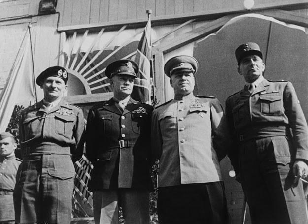 Eisenhower, Żukow, Montgomery i de Lattre de Tassigny /Courtesy Everett Collectio /East News