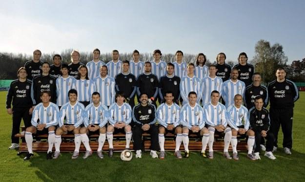 Ekipa Argentyny gotowa na podbój globu. /AFP