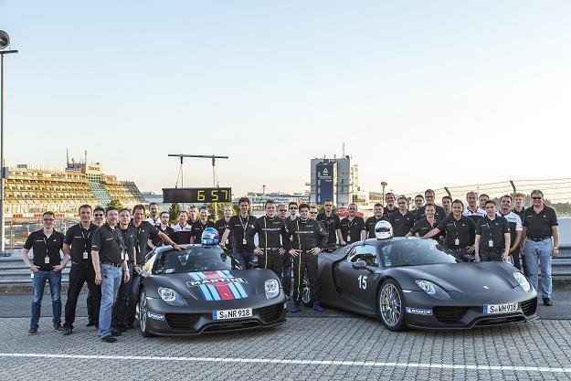 Ekipa Porsche ma powody do świętowania /