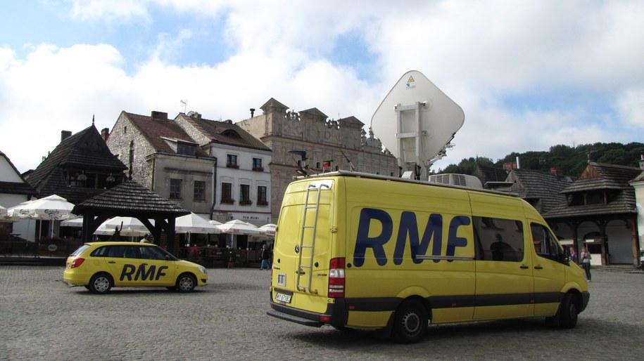 Ekipa RMF FM odwiedziła m.in. Kazimierz Dolny /RMF FM
