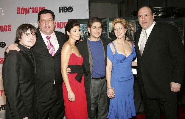 "Ekipa serialu ""Rodzina Soprano"" /AFP"