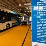 Ekologiczne autobusy w Pekinie