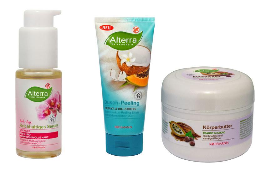 Ekologiczne kosmetyki Alterra /Styl.pl/materiały prasowe