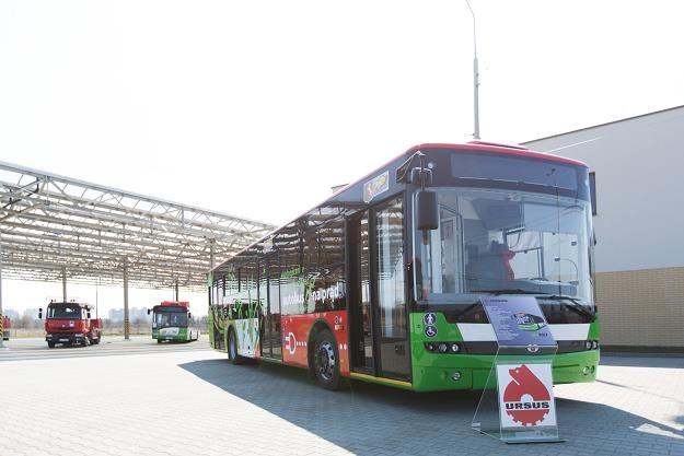 Ekologiczny autobus Ursusa /Informacja prasowa