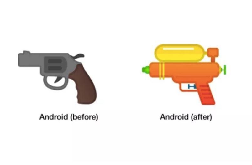 Ekona broni nie będzie już w żadnym stopniu wyglądała groźnie /Emojipedia /materiał zewnętrzny