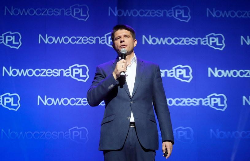 Ekonomista Ryszard Petru, podczas kongresu założycielskiego Stowarzyszenia NowoczesnaPL /Paweł Supernak /PAP