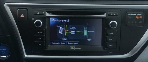 Ekran główny: monitor energii /Motor