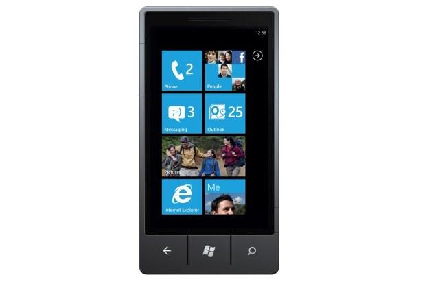 Ekran startowy systemu Windows Phone 7 /materiały prasowe