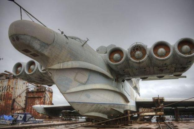 Ekranoplan KM to historia radzieckiej myśli technologicznej /materiały prasowe