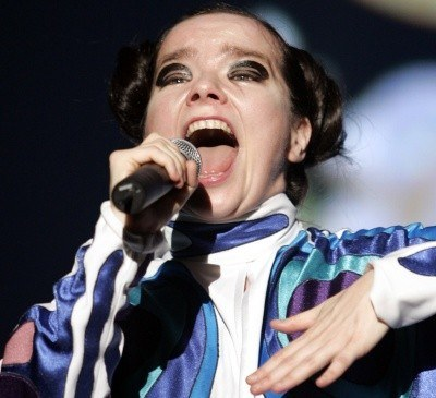 Ekscentryczna Björk /AFP