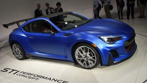 Ekscytujące Subaru BRZ STi concept