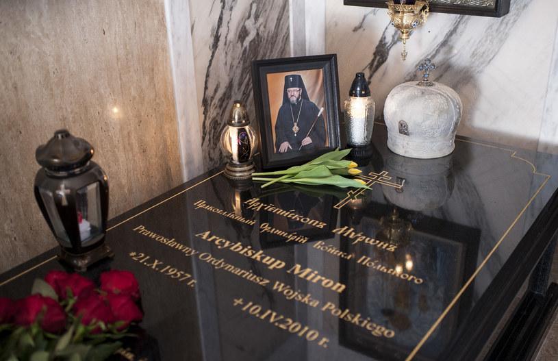 Ekshumacja arcybiskupa Mirona Chodakowskiego /Fot. Michal Kosc  /Agencja FORUM