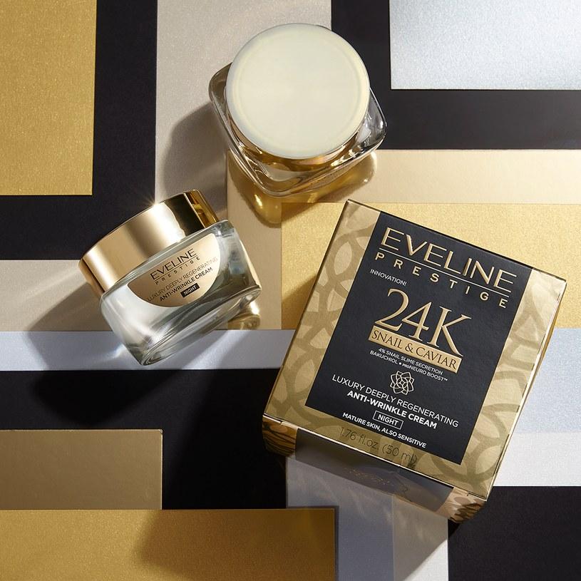 Ekskluzywna seria 24K SNAIL & CAVIAR Eveline Cosmetis /INTERIA.PL/materiały prasowe