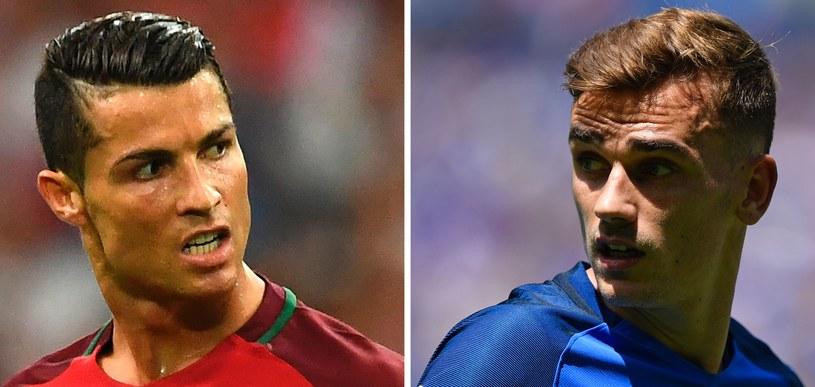 Ekspert nie ma wątpliwości, że finał Euro 2016 będzie należał do Ronalda i Griezmanna /AFP