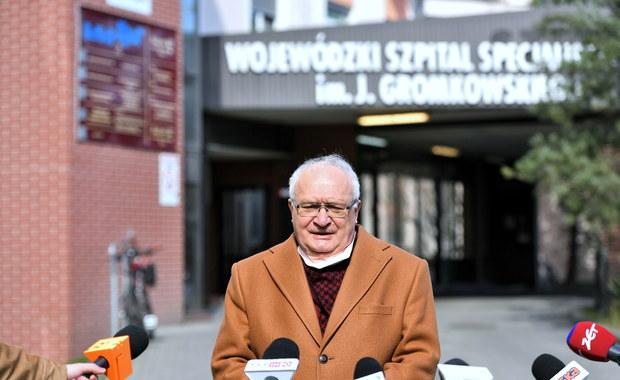 """Eksperymentalna terapia we wrocławskim szpitalu. """"Stan żadnego z pacjentów nie uległ pogorszeniu"""""""