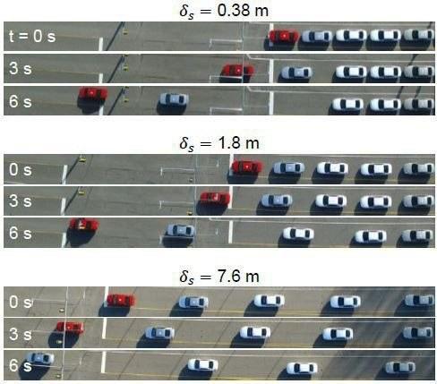 Eksperymentalne ustawienia samochodów /Virginia Tech /Materiały prasowe