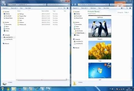 Eksploracja Windows 7 nie różni się wiele od tej z Visty - ale tutaj nie było wiele do poprawiania /INTERIA.PL