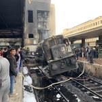 Eksplozja i pożar na dworcu głównym w Kairze. Jest wielu zabitych i rannych