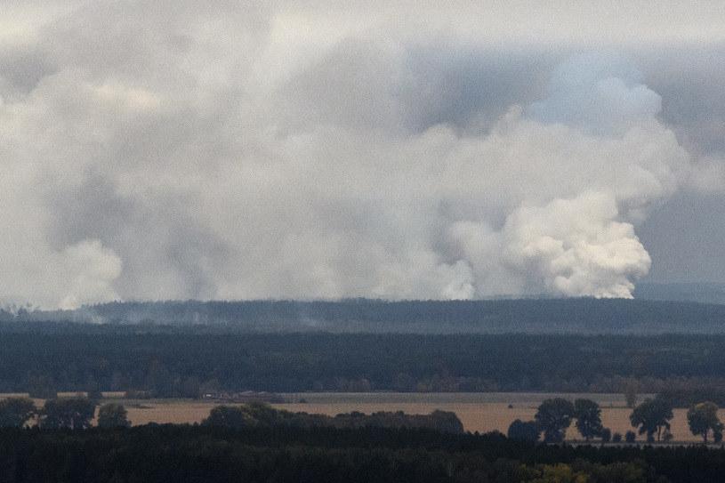 Eksplozja miała miejsce w składzie amunicji /Reuters /Agencja FORUM