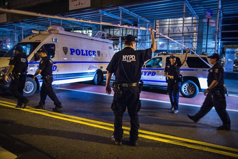 Eksplozja na Manhattanie. /Andres Kudacki /East News