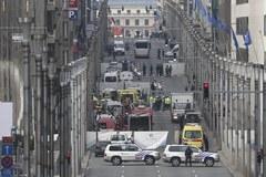 Eksplozja na stacji metra w Brukseli