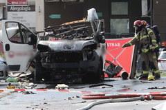 Eksplozja na warszawskim Bemowie