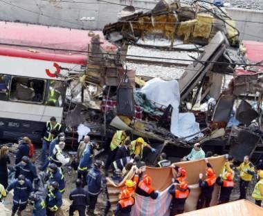 Eksplozja niedaleko stacji Atocha /arch. AFP