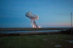 Eksplozja rakiety