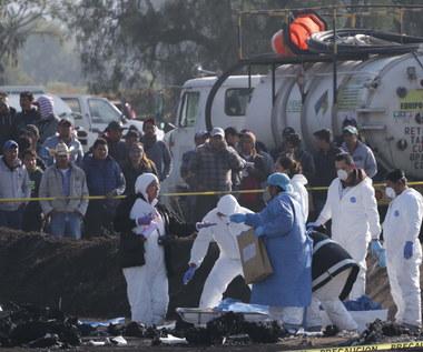 Eksplozja rurociągu w Meksyku. Rośnie bilans ofiar