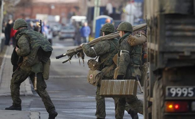 Eksplozja w akademii wojskowej w Petersburgu