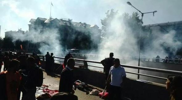 Eksplozja w Ankarze /Twitter