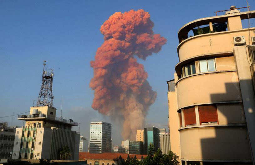 Eksplozja w Bejrucie /ANWAR AMRO /AFP