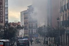 Eksplozja w centrum Madrytu
