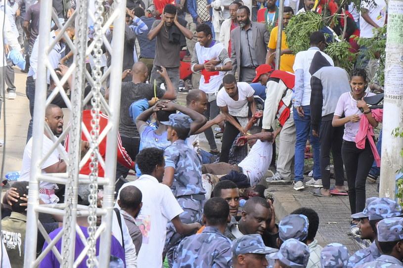 Eksplozja w Etiopii /STR /PAP/EPA