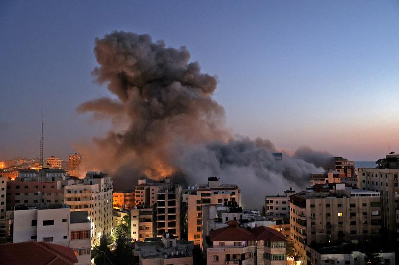Eksplozja w Izraelu /MAHMUD HAMS / AFP /AFP