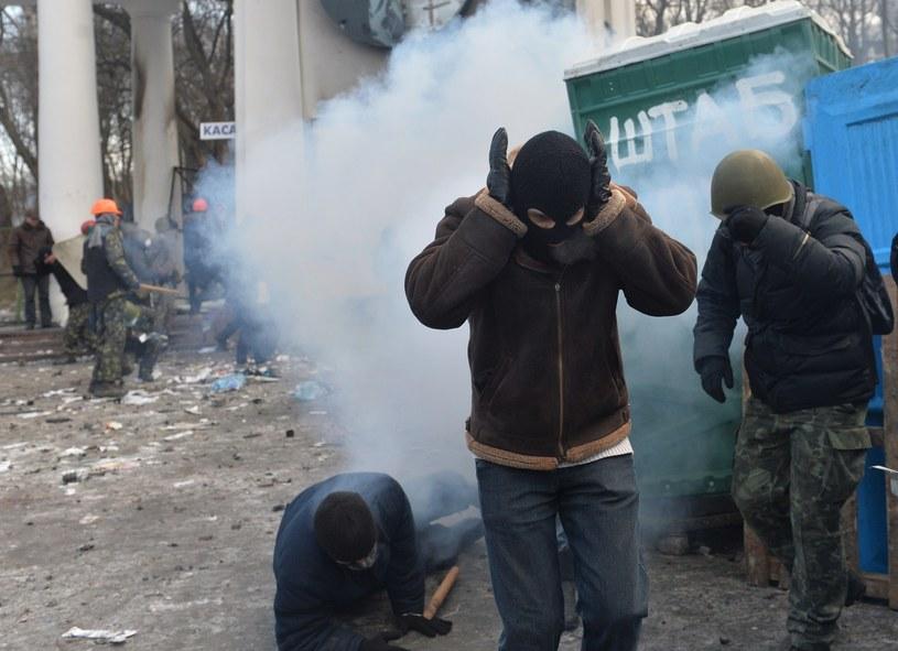 Eksplozja w Kijowie /AFP