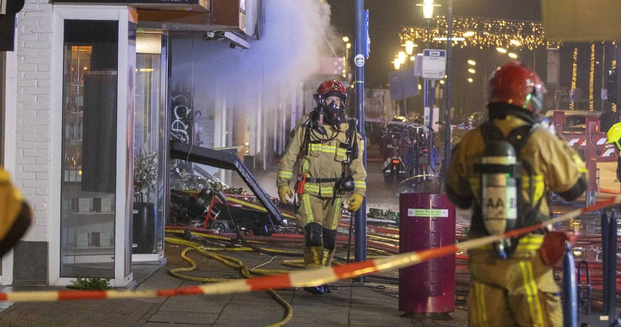 Eksplozja w sklepie z polskimi produktami w Lelystad