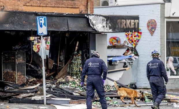 Eksplozje w polskich supermarketach w Holandii. Aresztowano czterech podejrzanych