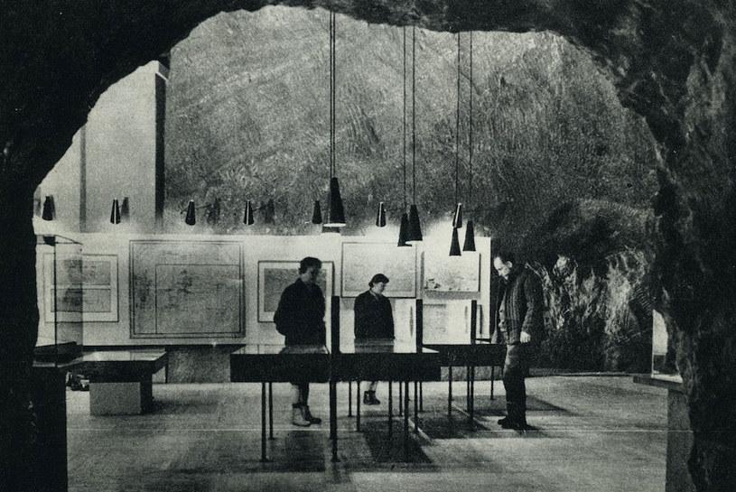 Ekspozycja w Muzeum w 1966 roku fot. Magdalena Rusinek /materiały prasowe
