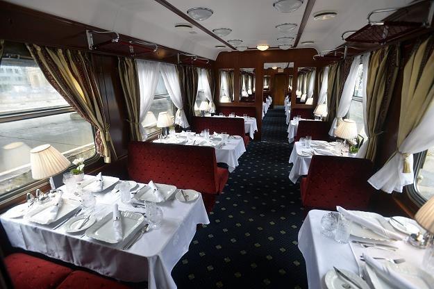 Ekspres Dunajski Złoty Orzeł - luksusowa restauracja /EPA