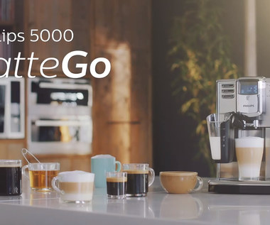 Ekspres Philips 5000 LatteGo