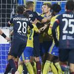 Ekstraklasa: Arka Gdynia przegrywa u siebie z Pogonią Szczecin