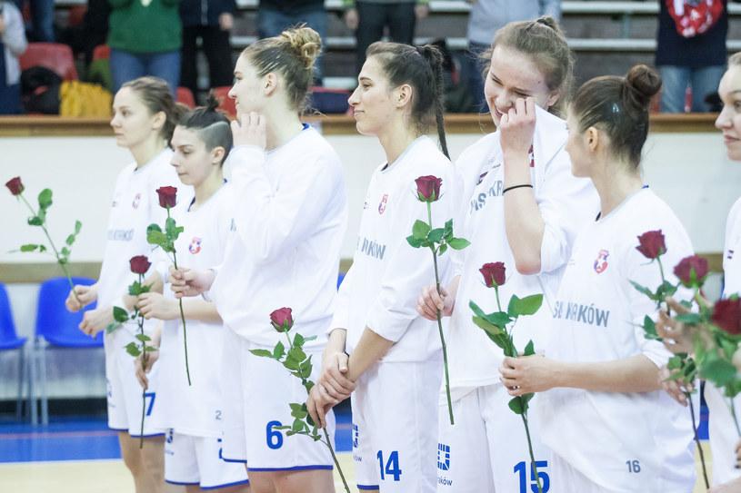 Ekstraklasa koszykarek w Krakowie to już historia /BARTEK ZIOLKOWSKI / FOKUSMEDIA.COM.PL / NEWSPIX.PL /Newspix
