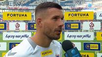 Ekstraklasa. Lukas Podolski: W Zabrzu nie muszę się ukrywać. Ludzie lubią przychodzić na mecze (ZDJĘCIA POLSAT SPORT). Wideo