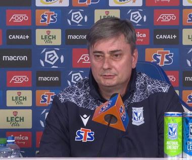 Ekstraklasa. Pierwsza konferencja trenera Macieja Skorży po powrocie do Lecha Poznań. WIDEO