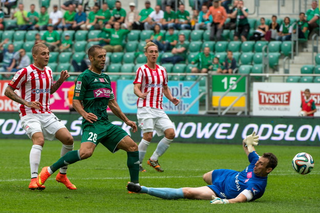 Ekstraklasa: Śląsk Wrocław zremisował z Cracovią