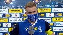 Ekstraklasa. Tymoteusz Puchacz: Musimy zacząć od tego, że gramy źle (POLSAT SPORT). Wideo